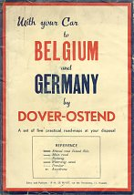Cover from 1950 Dover-Ostend strip maps