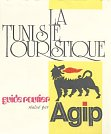1974 Agip map of Tunisia