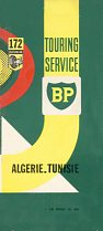 1960 BP map of Tunisia and Tunisia