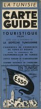 1939 Esso Map of Tunisia