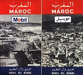 late 1960s Mobil map of Morocco