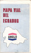 1969 Anglo (Burmah) map of Ecuador