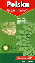 2001 BP map of Poland