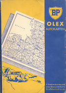 Folder containing 1939 BP-Olex map set of Germany