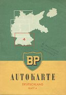 ca1952 BP section 4 map of West Germany