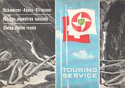late 1950s BP booklet of Swiss Alpine Roads
