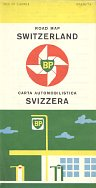 1960 BP map of Switzerland (English/Italian cover)