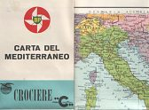 1961 Italian BP map of the Mediterranaean
