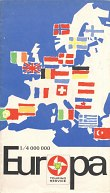 ca1962 BP Map of Europe