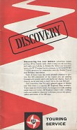 1962 BP Discovery Touring Booklet