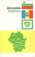 1965 BP Touring service map of Bulgaria and Romania