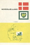 1966 BP map of Denmark (Nordsjaelland)
