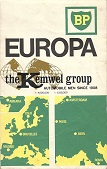 1968 BP/Kemwel map of Europe