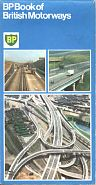 1975 BP motorway map booklet
