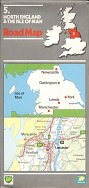 1984 BP/National map of North England & the Isle of Man