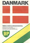 1985 BP map of Denmark