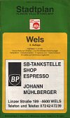 ca1993 BP map of Wels, Austria