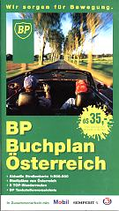 1997 BP map book of Austria