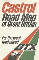 1976 Castrol map of Britain