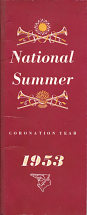 Summer 1953 National Benzole events booklet