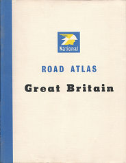 1963 National Benzole atlas of Great Britain