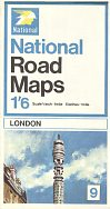 1967 National map of London