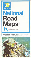 1968 National Map of W Scotland
