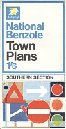 1968 National Benzole town plans - Southern Section