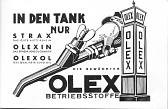 Advert from Olex brochure