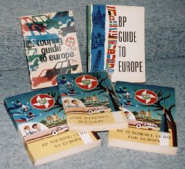 A selection of BP touring guides