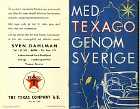 1938 Texaco spiral atlas of Sweden