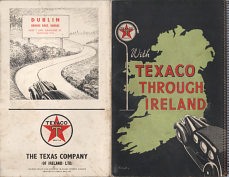 1930s or 40s Texaco atlas of Ireland