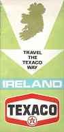ca1968 Texaco map of Ireland
