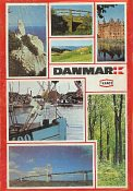 1983 Texaco map of Denmark