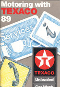 1989 Motoring with Texaco booklet