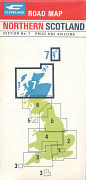 1967 Cleveland Map of Northern Scotland