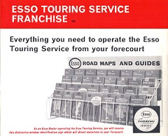 Advert for 1967 Esso map rack