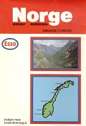 1985 Esso map of Norway