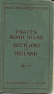 Cover of 1905 Pratt's atlas of Scotland and Ireland