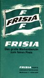 Frisia map of Southern Germany