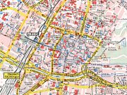 Extract from 2002 Shell map of Freiburg