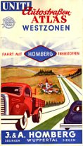 mid 1950s Homberg atlas of Germany (front)
