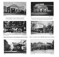 Service station photos from 1935 Milag map of Germany