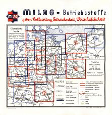 Index map from 1935 Milag atlas of Germany