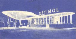 Optimol service station from ca1968 JRO map of North Bavaria (Nuernberg)