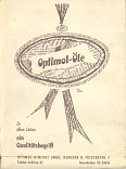 ca1958 Optimol Advert from JRO map