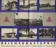 Filling stations from 1930s RKS map of Berlin