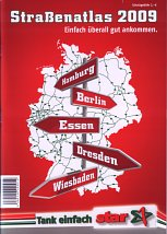 2009 Star Road Atlas of Germany