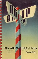 1954 Agip atlas of Italy