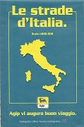 1995 Agip map of Italy